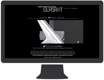 Website Glasart, Michael Dräxl