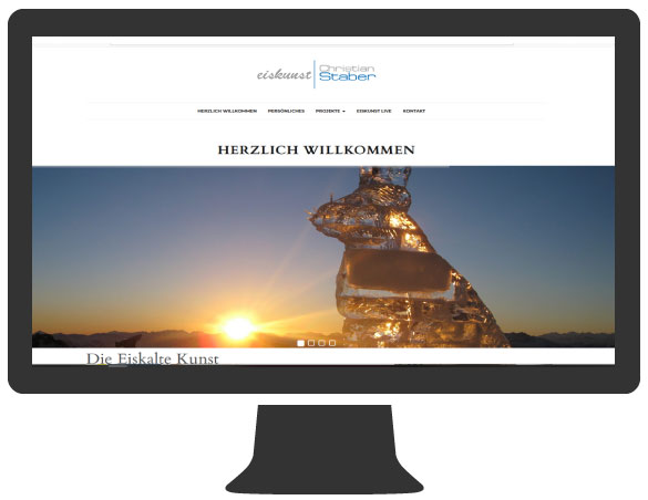 Websitegestaltung Christian Staber